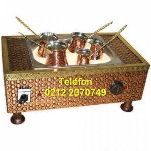 Arabalı Kumda Kahve Makinası