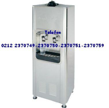 Krom çelik kazanlı şamandıralı şebeke suyuna bağlayarak içine giren suyu soğutan su makinaları 0212 2370749